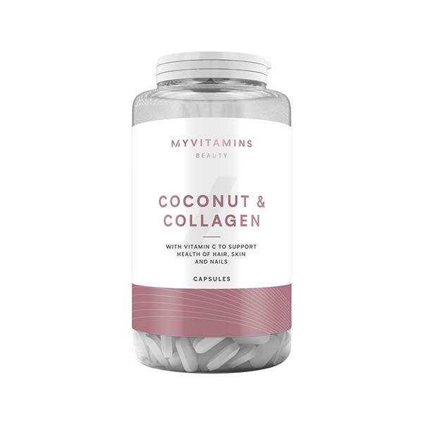 کپسول کلاژن و نارگیل مای ویتامینز Myvitamins Coconut And Collagen Capsule